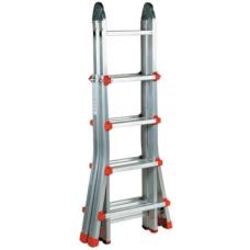Escada Telescópica c/ 2 articulações